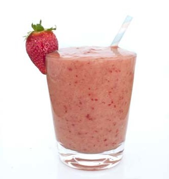 Pineapple Watermelon Strawberry Banana Smoothie