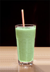 Cucumber Pineapple Banana Smoothie